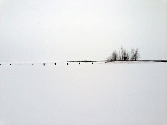 © CORDAY - Surface Of The Moon - Chicago Winter, Horizon