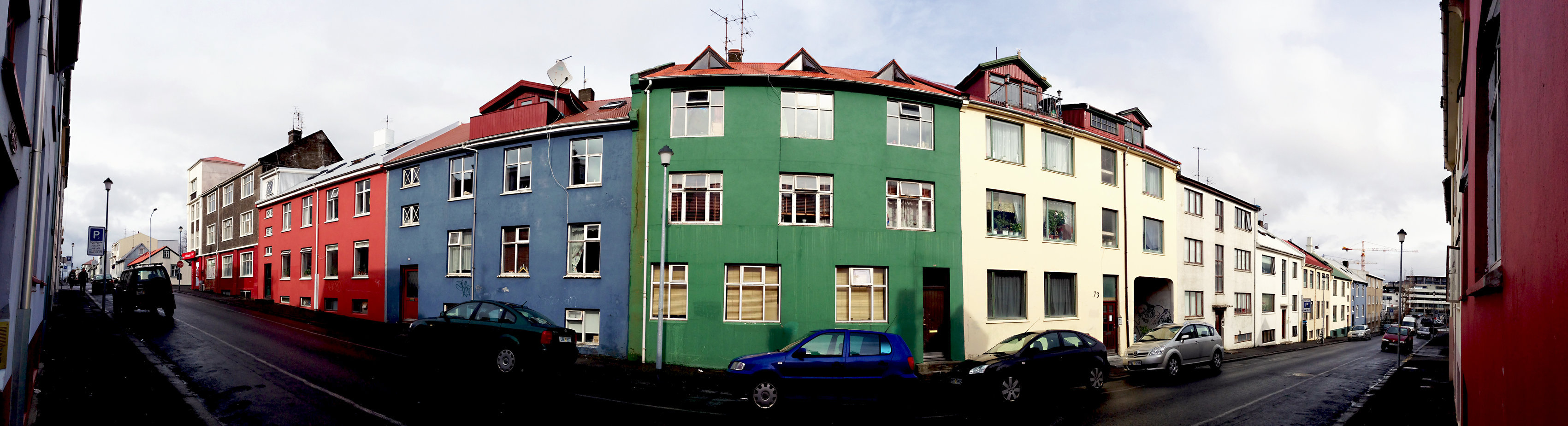 © CORDAY - Iceland, No. 208 - Red, Green, Blue