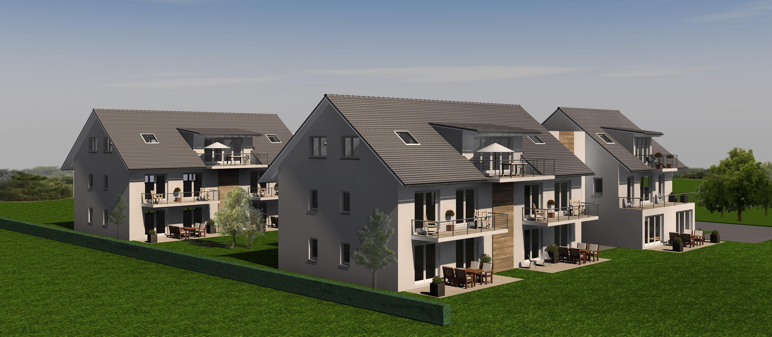 Mehrfamilienhäuser | Edling | Süd-West