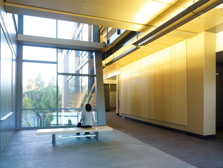 UCLA Life Sciences Research Bldg Atrium 1 of 3