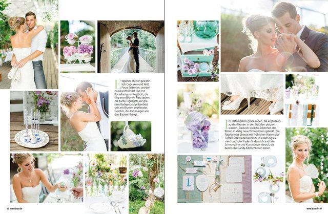 Veröffentlichung im Hochzeitsplaner Magazin 4/14