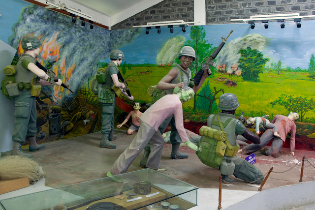 My Lai massacre diorama