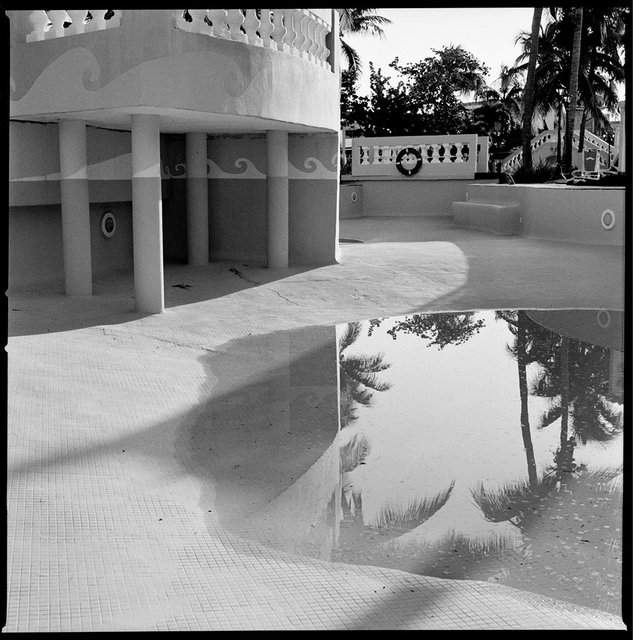 Trinidad Pool Reflection