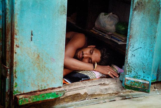 Sleeping Varanasi