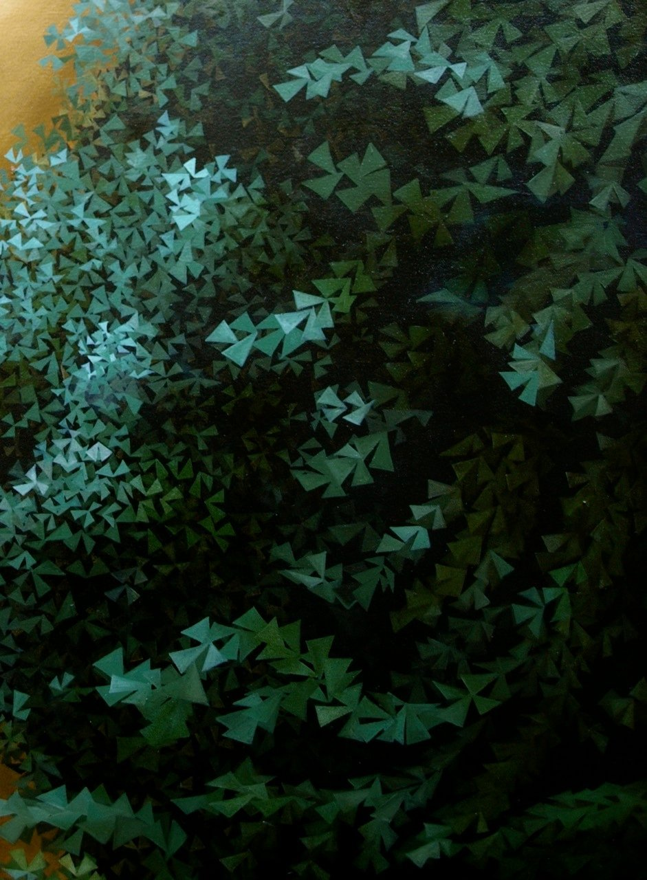 Detail: Hazy Green, 2011