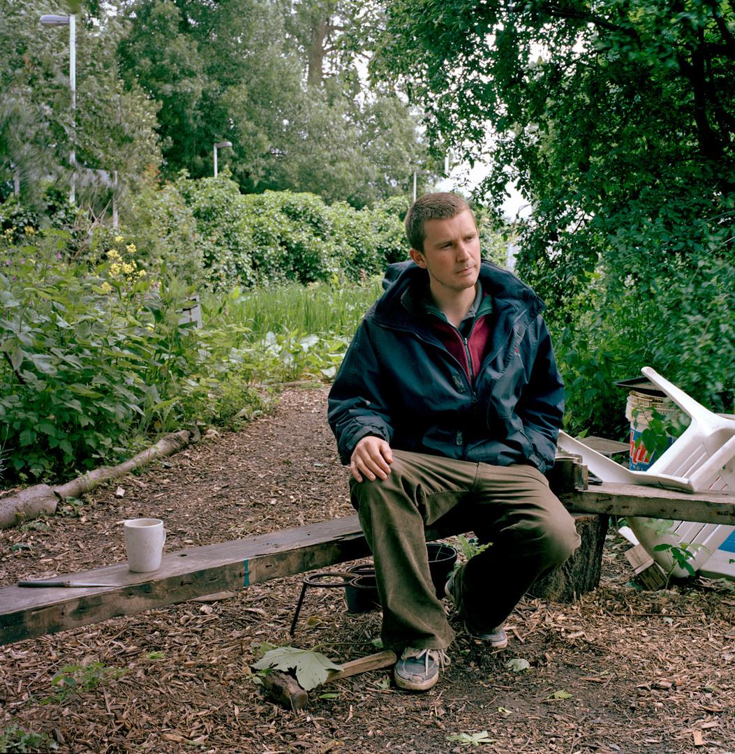 Simon Moore, activist, 2012