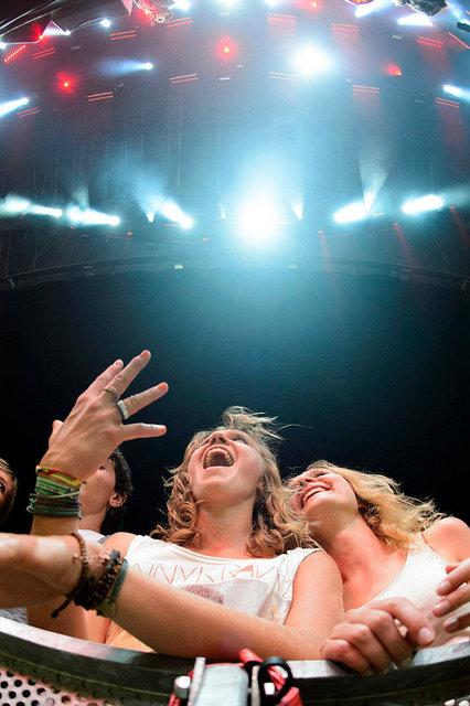 Fans - Paleo Festival Nyon - 2012