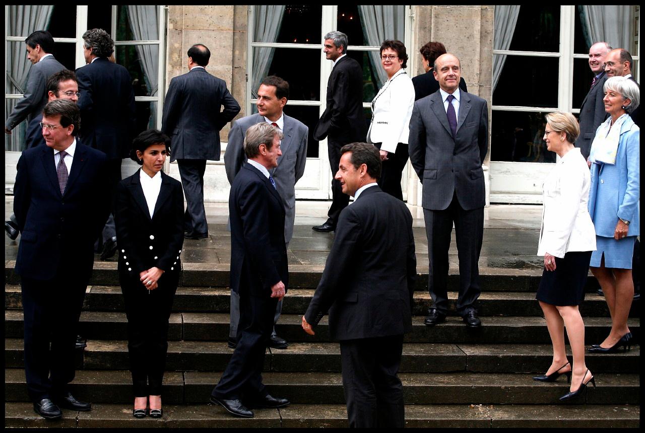 Nicolas Sarkozy et les ministres