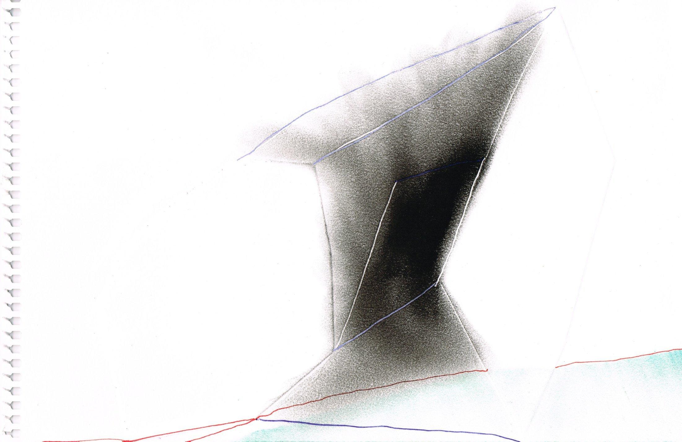 Zonder Titel, 2016, 23,8 x 16,1 cm