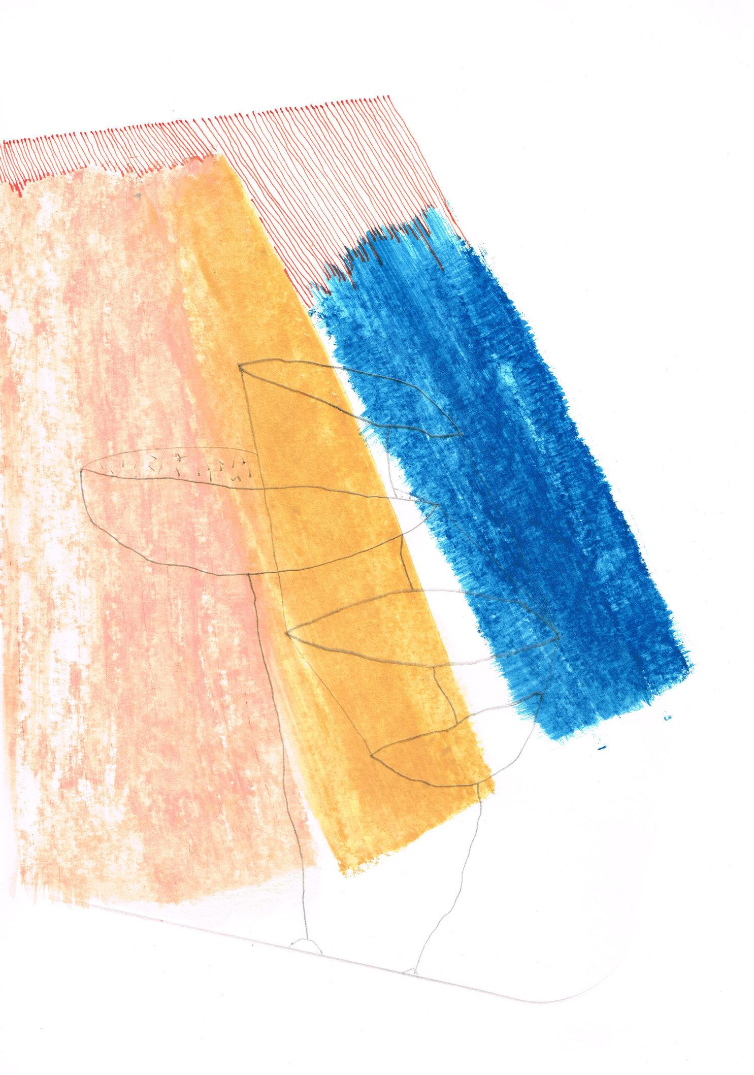 Zonder Titel, 2016, 20,8 x 29,7 cm