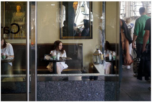 A Girl in a Café