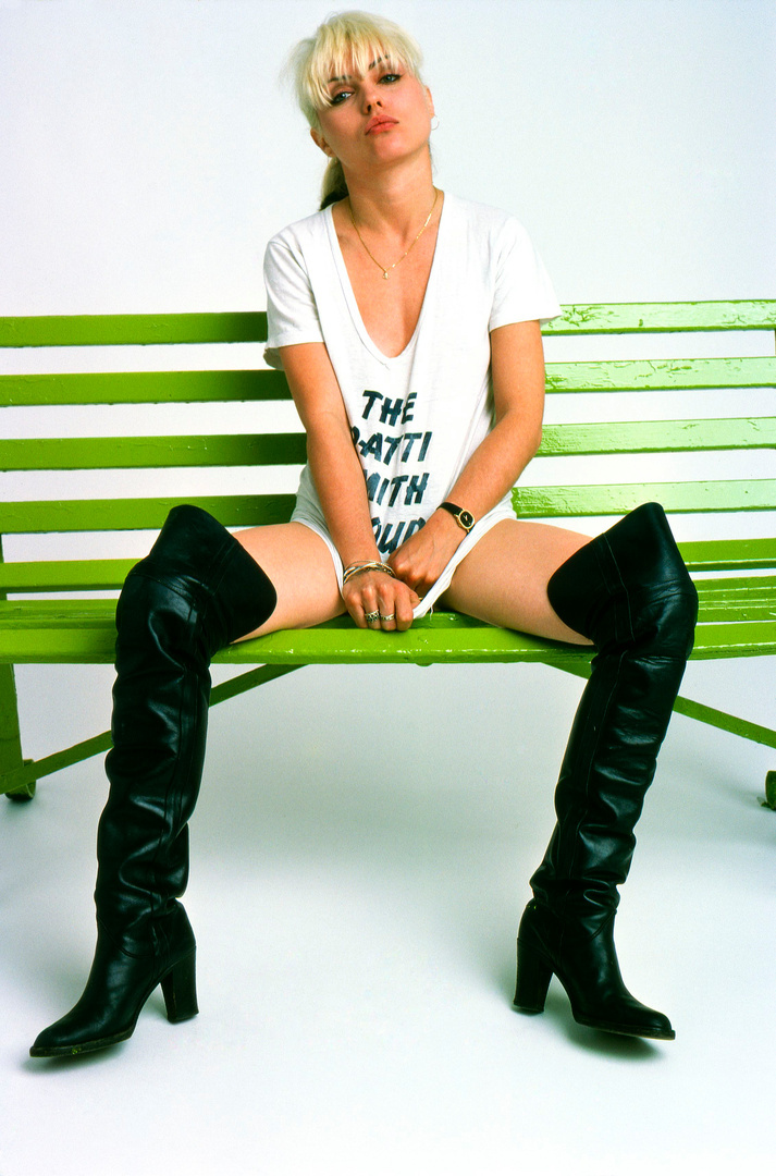 Debbie Harry, Blondie, 1977