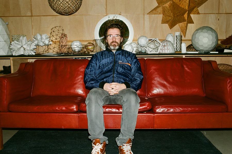 Oafur Eliasson in his studio in Berlin