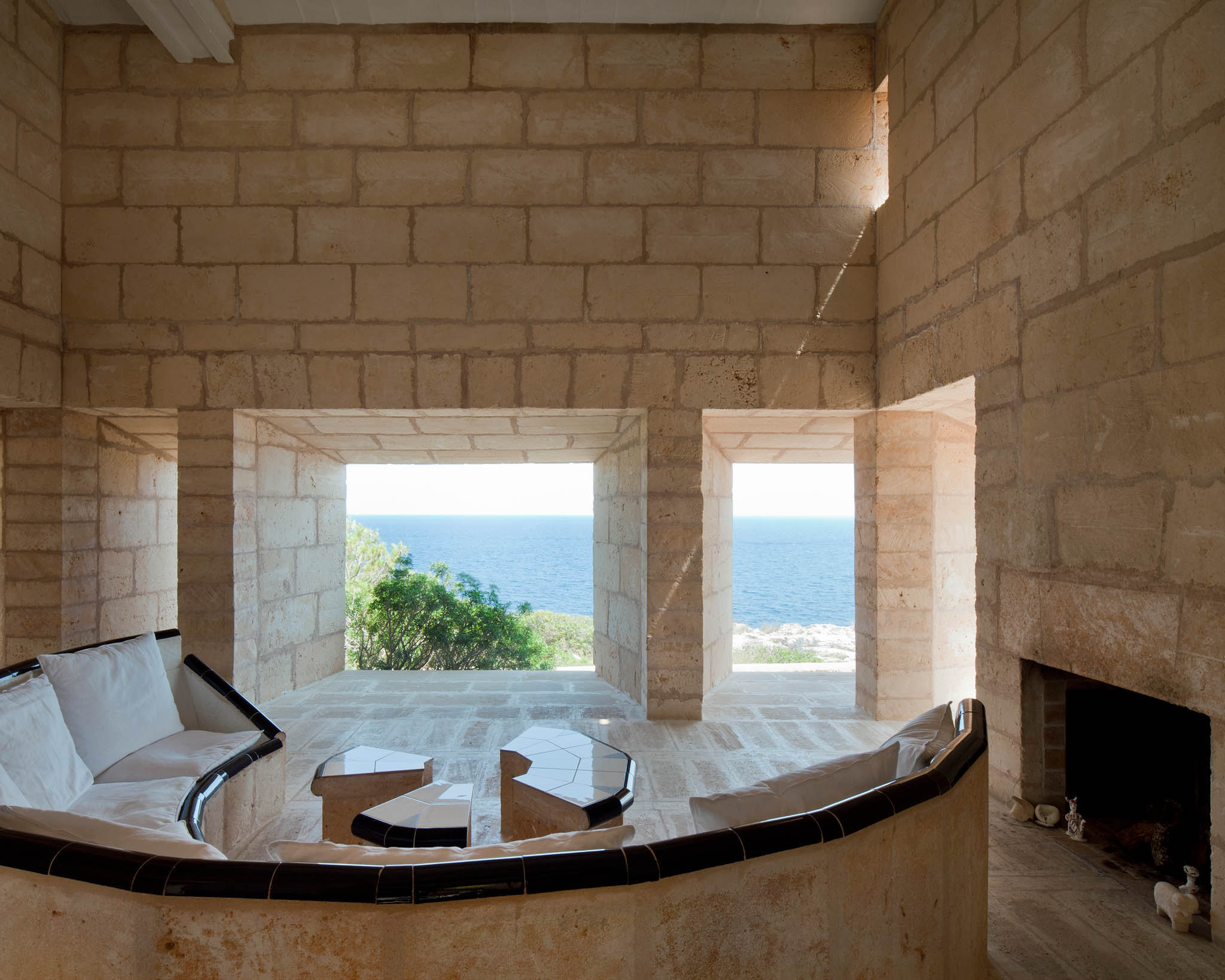 Can Lis, Mallorca. Architect: Jorn Utzon