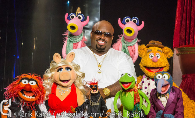 CeeLo Green & The Muppets photographed by Erik Kabik