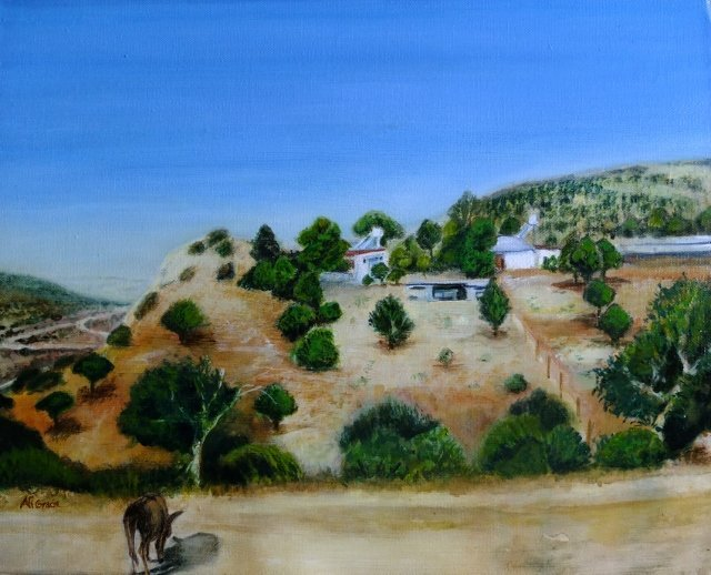 Troodos Mountains by Alison Gracie