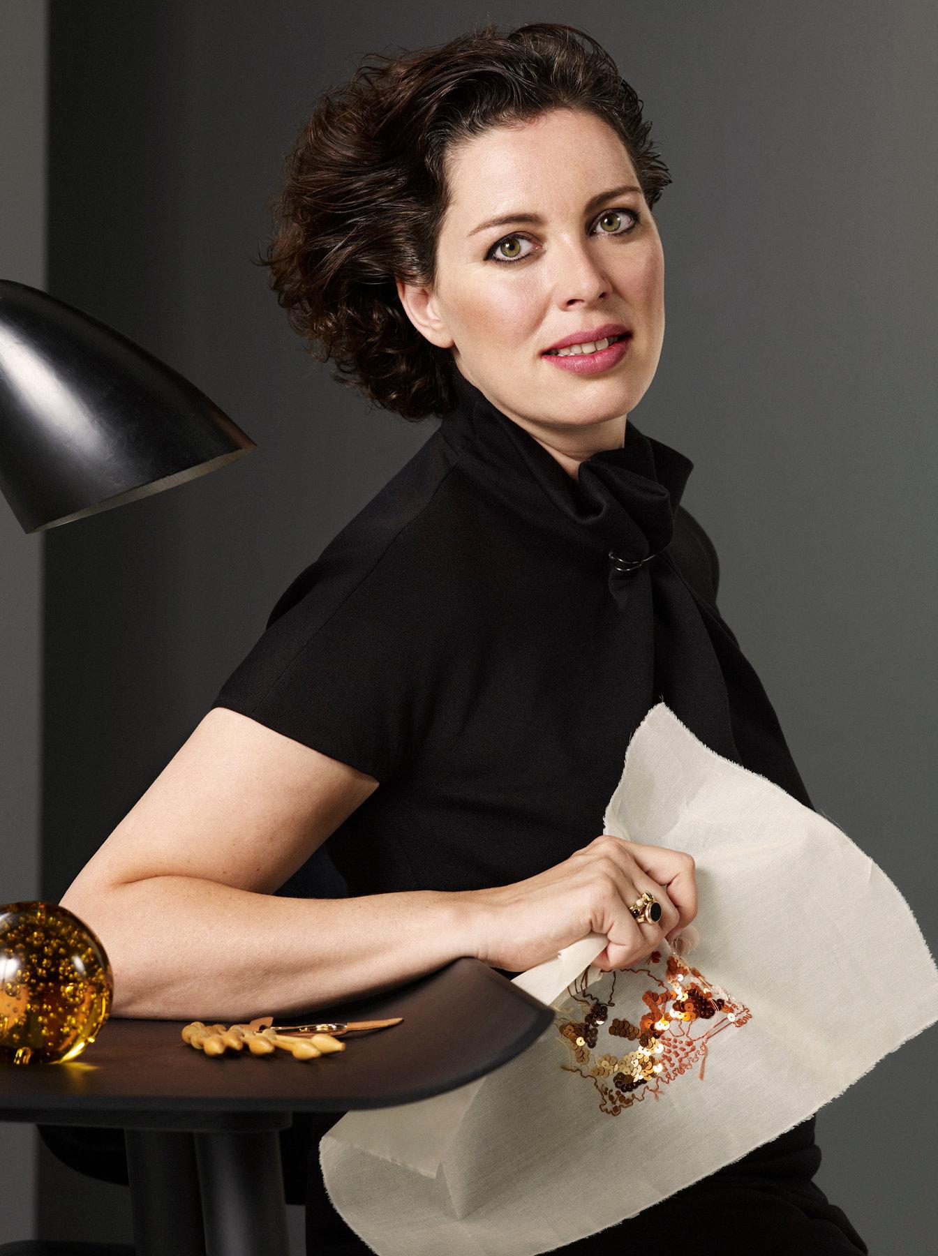 Martine van t Hul for Harpers Bazaar NL