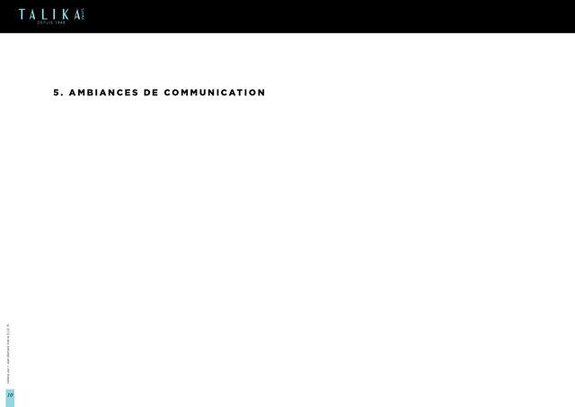 """<font color=""""#aaa7a6"""">Talika : plateforme créative (10/21).</font>"""