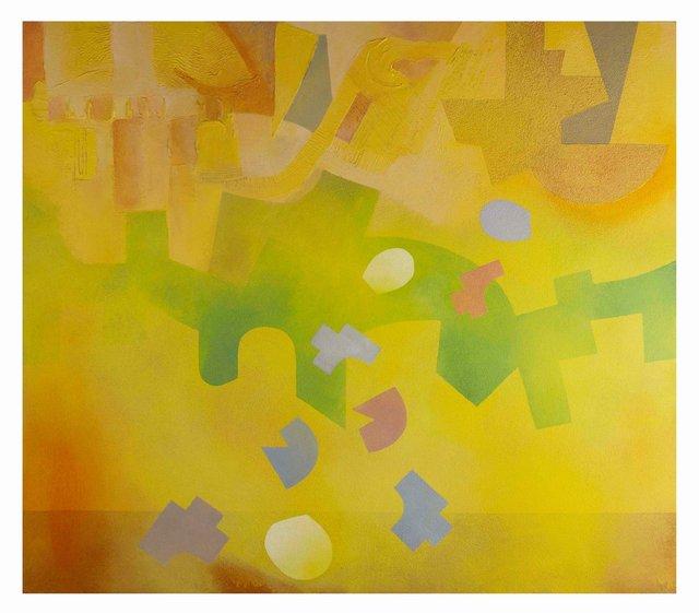 'Sand Storm' - 122X106cm - Acrylic on Canvas (b) - Don Eachells.jpg