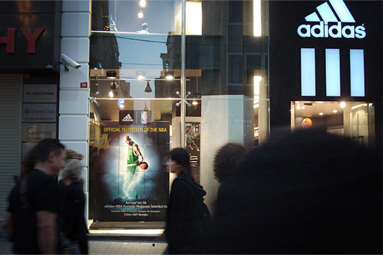 Adidas - NBA Store Opening ceremony  - Campaign