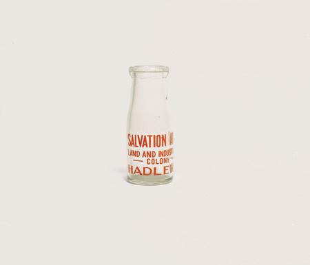 Bottle.  Early 20th C.