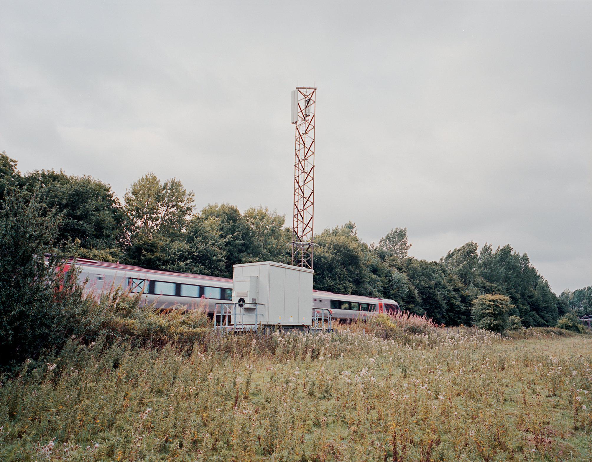 Mobile phone mast, Oxfordshire, UK.