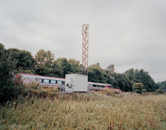 Mobile phone mast, Oxfordshire, UK.