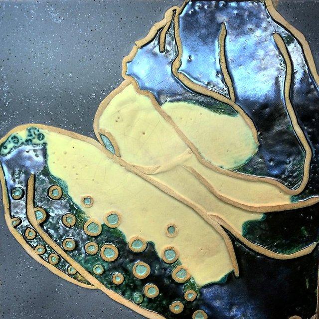 Syrena 2, 28x29 ceramika