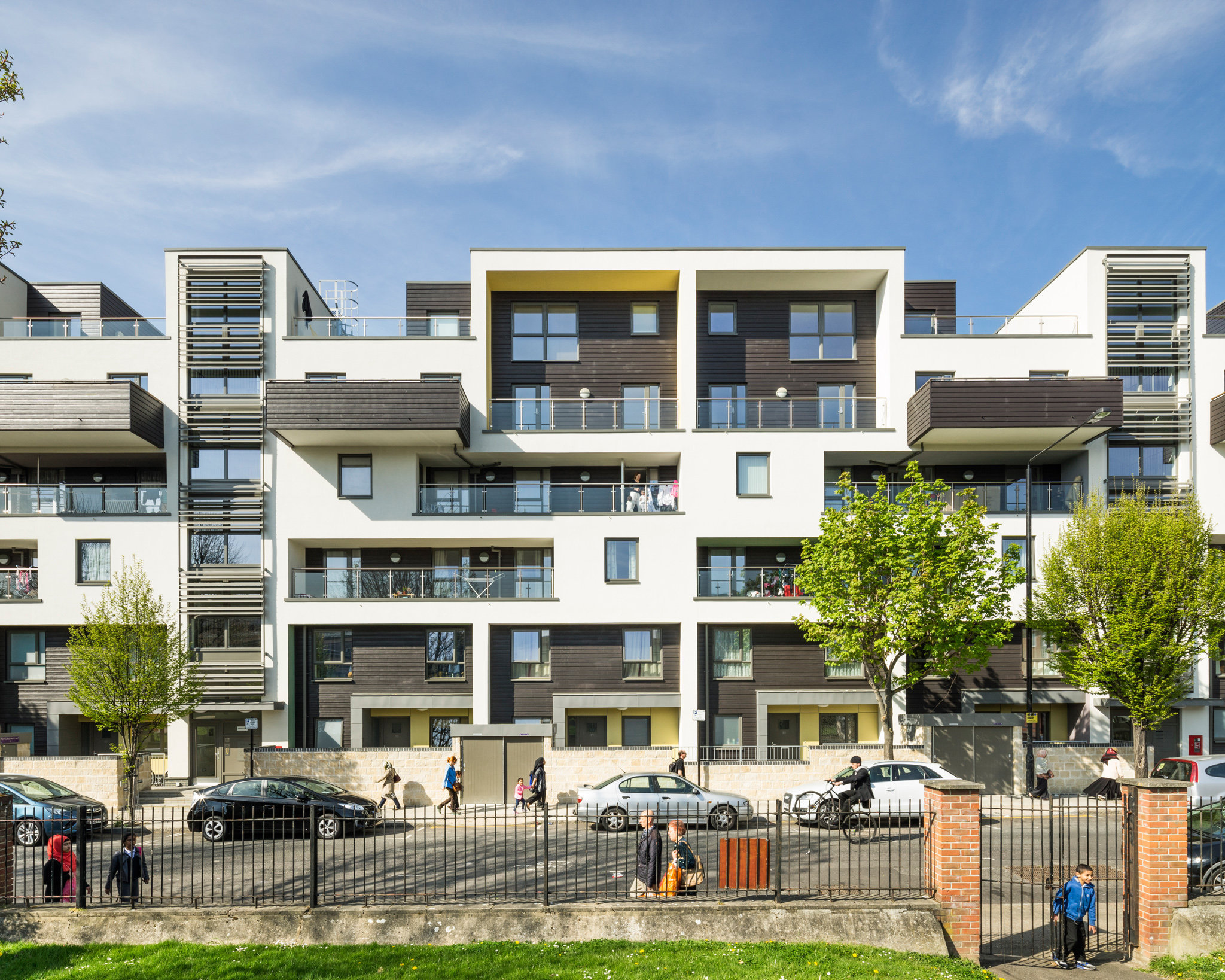 Hammond House, London. Penoyre and Prasad Architects