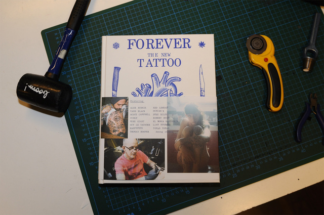 FOREVER : The new tattoo published by Gestalten