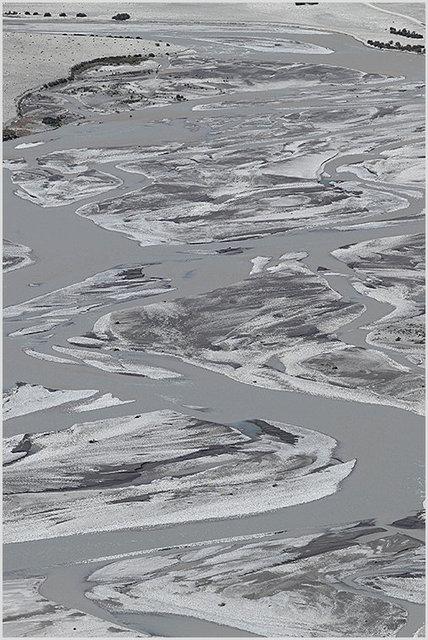 shyok river bed