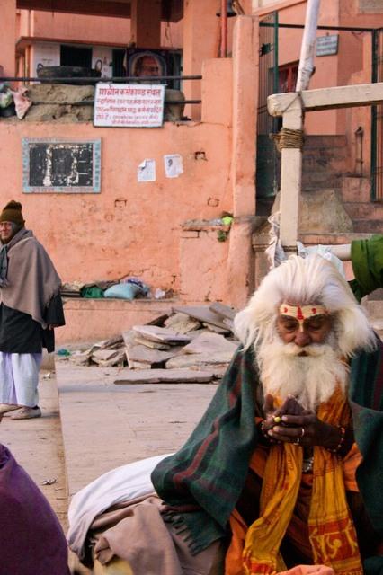 Saddhu em Benares