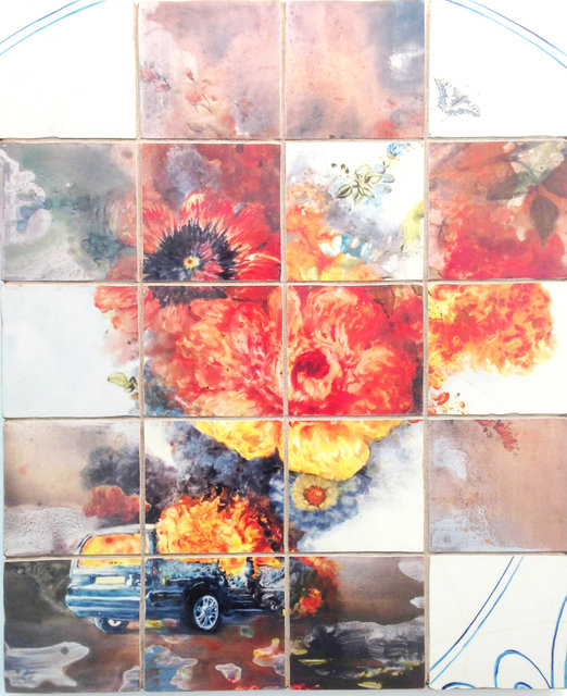 "Patrick Bergsma ""Flame"" 2013"