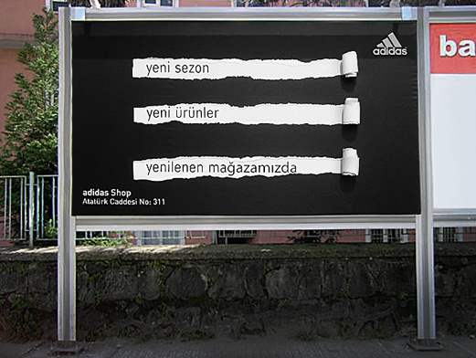 Adidas - Rize Adidas Store Openning Ceremony Billboard ad