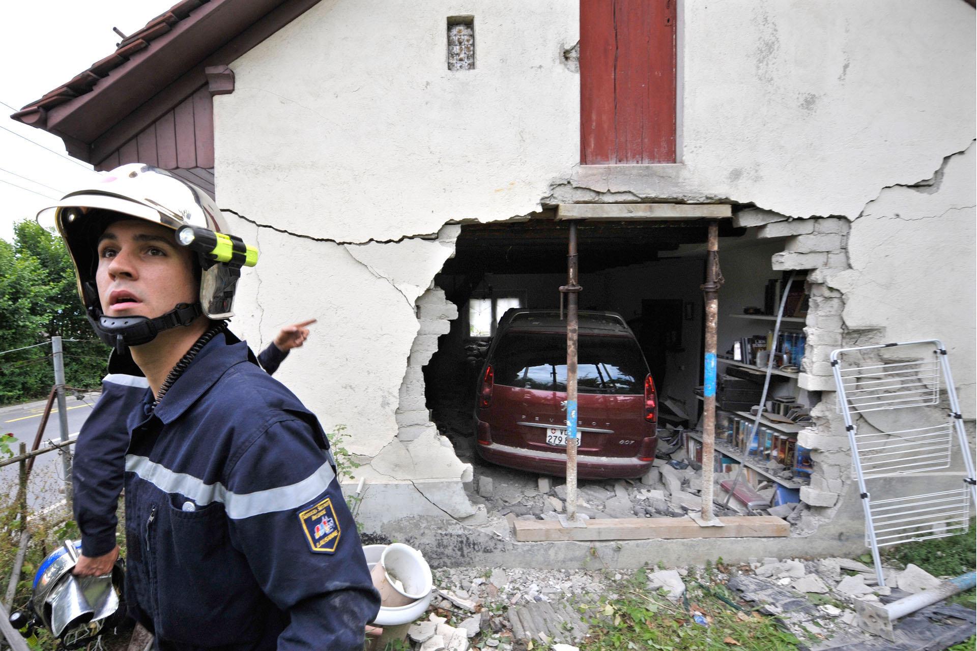 Accident voiture - Lausanne - 2006