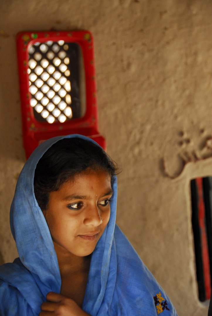Girl from Sindh Province, Pakistan