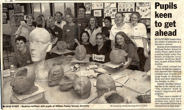"""""""Making a Head"""" at the Daventry William Parker Sch"""