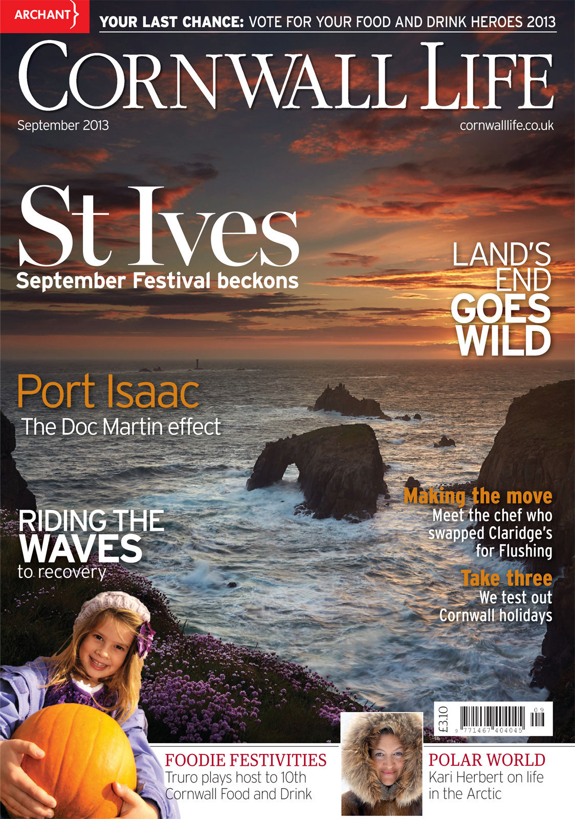 Cornwall Life - September 2013
