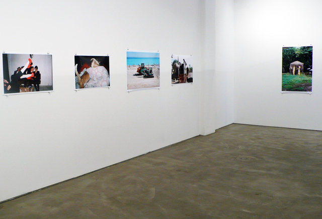 Maxime Ballesteros_Straw House at Galerie Mikael Andersen 2012.jpg