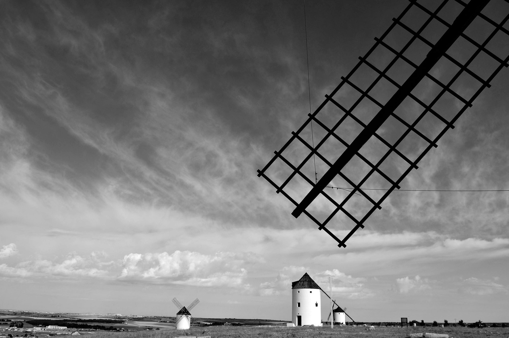 Moulins à vent, Mota del Cuervo, Mancha