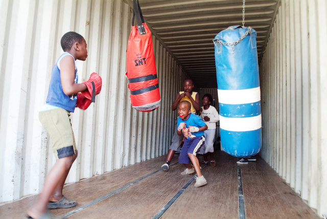 Boxing Bags II