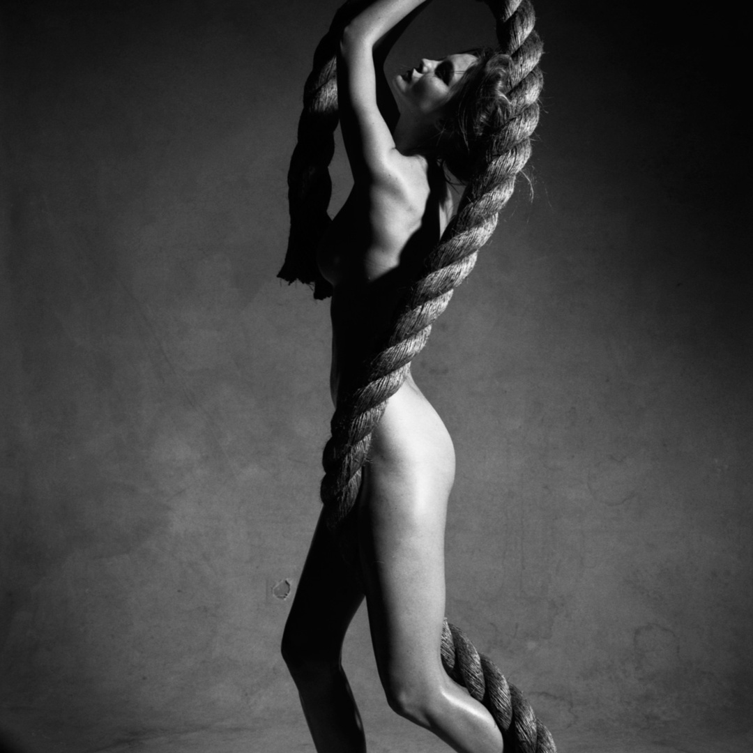 Nude with Rope. New York, 2009 (Study #6)