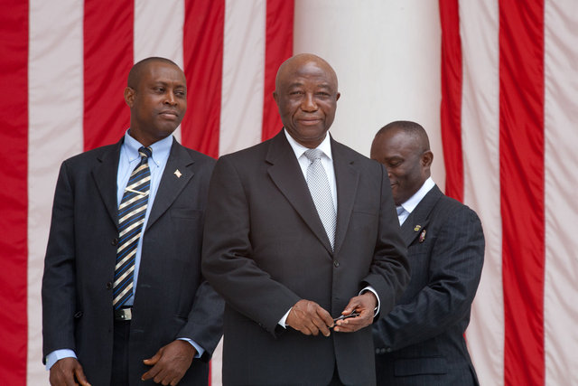 Vice President of Liberia Joseph Boakai