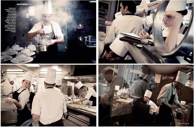 A day in the Celler de Can Roca restaurant.