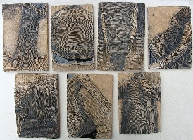 Tydzień, 6x(10x15) ceramika