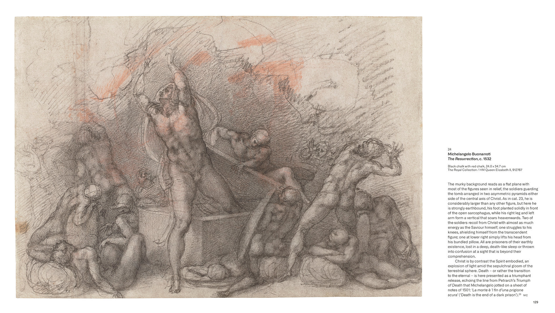 Bill Viola / Michelangelo - Life Death Rebirth