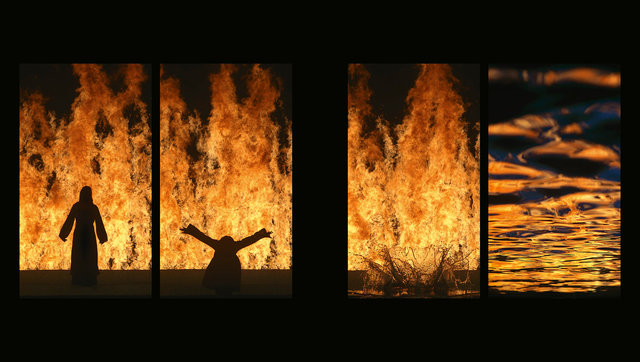 Bill Viola / Michelangelo - Life Death Rebirth
