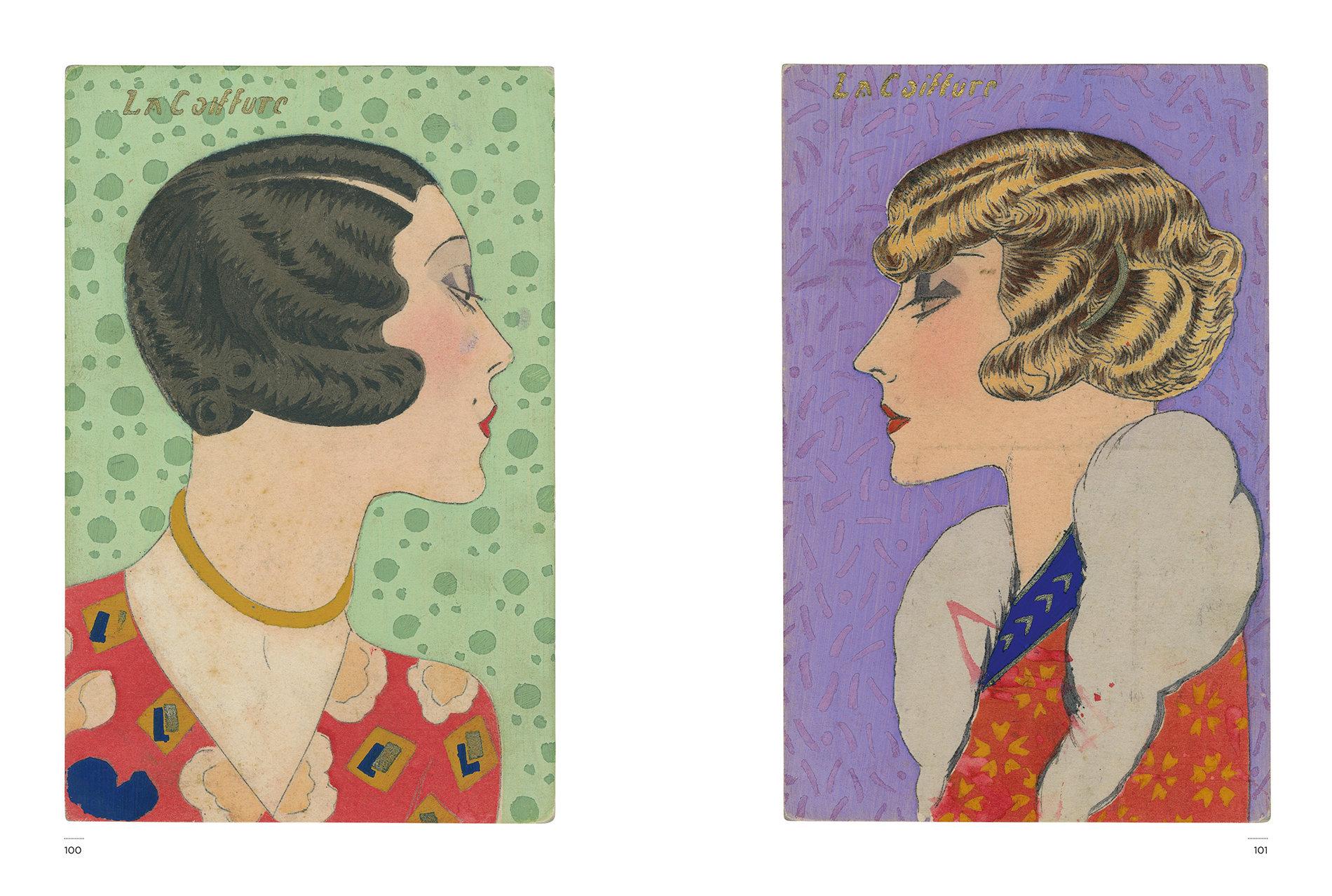Kasmin's Postcards - Hair