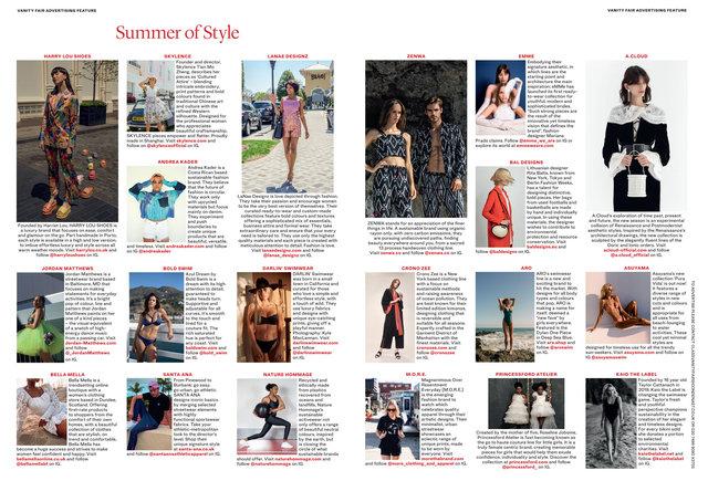 Vanity Fair July - August 2020