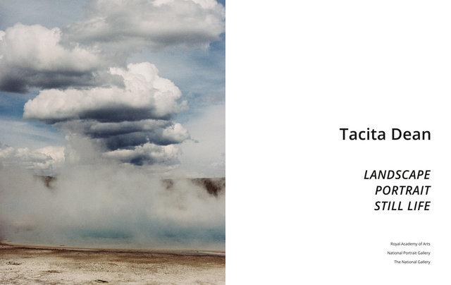 Tacita Dean - Landscape, Portrait, Still Life
